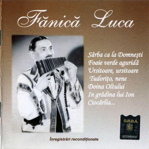 Fănică Luca - Fănică Luca (CD;Comp;RM)