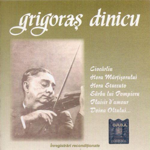 Grigoras Dinicu - Vioară (CD;Comp;RM)