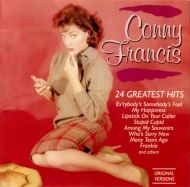 Connie Francis - 24 Greatest Hits (CD;Comp)