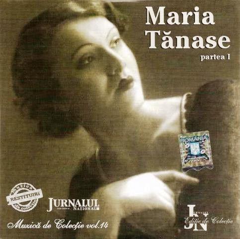 Maria Tănase - Maria Tănase Partea I (CD;Comp)