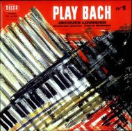 Jacques Loussier - Play Bach Nº1 (CD;Album;RE;RM;Dig)
