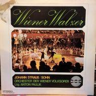 Johann Strauss Jr.;Wiener Volksopernorchester;Anton Paulik - Wiener Walzer (LP)