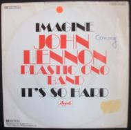 John Lennon / The Plastic Ono Band With The Flux Fiddlers - Imagine (7