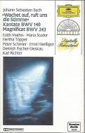 Johann Sebastian Bach - «Wachet Auf;Ruft Uns Die Stimme» Cantate;BWV 140 • Magnificat;BWV 243 (Cass;Comp)
