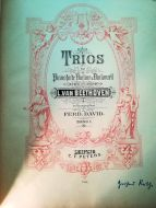 Beethoven - Trios für Pianoforte, Violine u. Violoncell (MUSICAL SCORE BOOK)